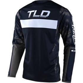 Troy Lee Designs Sprint Langarmtrikot Herren blau/grau